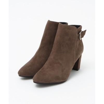 ABAHOUSE PICHE / 金具ベルトショートブーツ WOMEN シューズ > ブーツ
