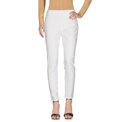 ピンコ PINKO パンツ ホワイト 44 コットン 97% / ポリウレタン 3% パンツ