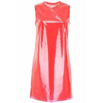 N.21/ヌメロ ヴェントゥーノ ドレス RED N.21 pvc and lace dress レディース 春夏2019 H032 2815 ik