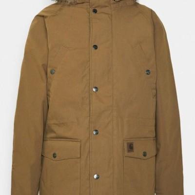 カーハート メンズ ファッション TRAPPER - Winter coat - hamilton brown