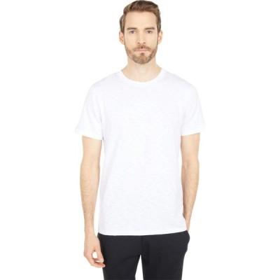 オルタナティヴ Alternative メンズ Tシャツ トップス Fillmore Organic Cotton Slub T-Shirt White
