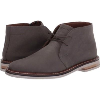 ボストニアン Bostonian メンズ ブーツ シューズ・靴 Dezmin Mid Grey Nubuck