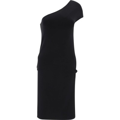 """マックスマーラ Max Mara Sportmax レディース ワンピース ワンピース・ドレス """"Nido"""" One-Shoulder Dress Black"""