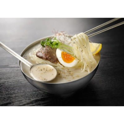 サッポロ西山ラーメン 牛白湯 冷麺(2食入り)×3パック