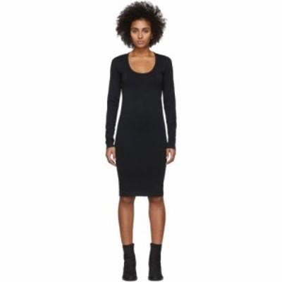 ヘルムート ラング Helmut Lang レディース ワンピース ワンピース・ドレス Black Scoop Neck Dress