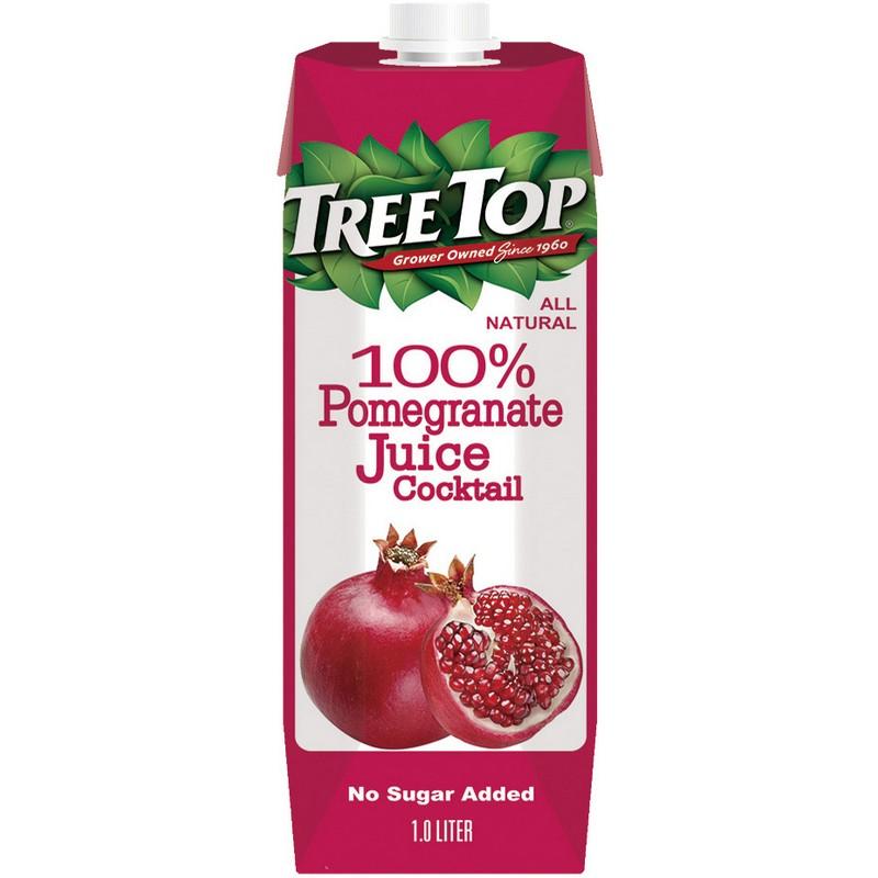 樹頂100石榴莓綜合果汁1L