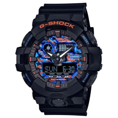 カシオ 腕時計 メンズ G-SHOCK GA-700CT-1AJF Gショック