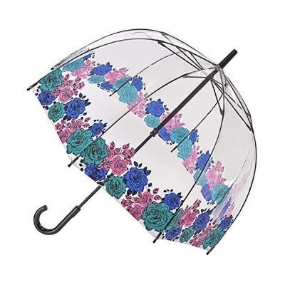 FULTON 傘 レディース バードケージ ムーディローズ 長傘 フルトン かさ バラ 花柄 フラワー フローラル fultonl042mo