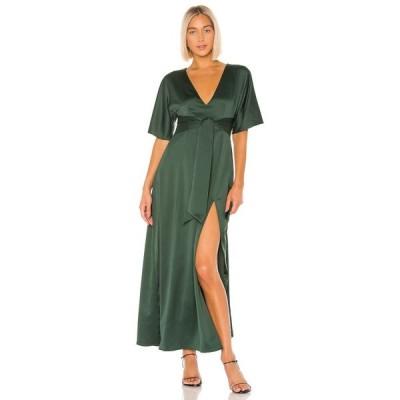 ハウスオブハーロウ1960 House of Harlow 1960 レディース ワンピース ワンピース・ドレス X REVOLVE Indira Dress Emerald