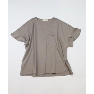 tシャツ Tシャツ 《musee》フロントタックスキッパーTシャツ《接触冷感》