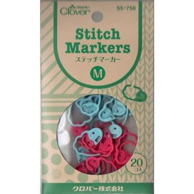 ステッチマーカー〈M〉 55-756 クロバー 編み物用具 【KY】