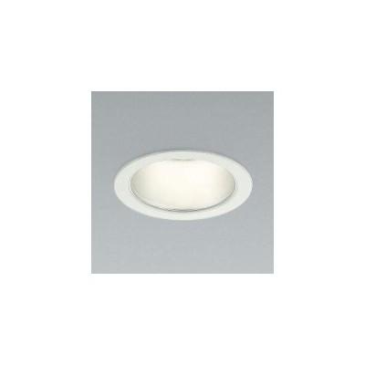 コイズミ照明 LEDベースダウンライト 防雨型 600lmクラス 白熱球60W相当 温白色 埋込穴φ100mm 照度角65° ファインホワイト AD45816L