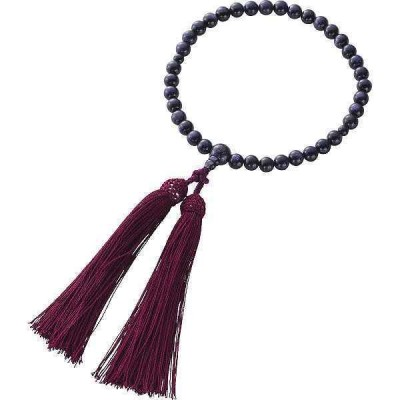【送料無料】紫金石念珠〈1604KC003〉【パケット便可】(bo)cg-1436838
