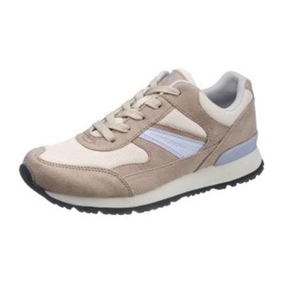 asahi shoes(アサヒシューズ) WIMBLEDON(ウィンブルドン) スニーカー W/B L041 C265【サンドベージ】 レディース KF79541