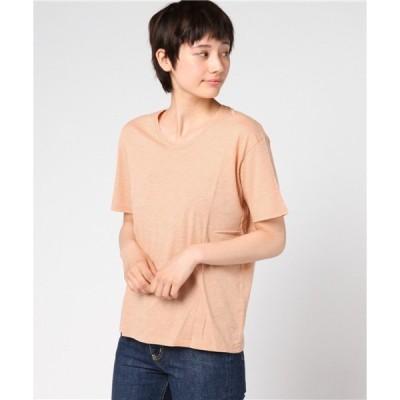 tシャツ Tシャツ 【数量限定】インポート SAY THIN TEE セイ シン ティー コットン オレンジ レディース [HOPE/ホープ]