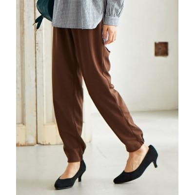 【大きいサイズ】 カットソージョガーパンツ(ヴェールダンス) パンツ, plus size pants