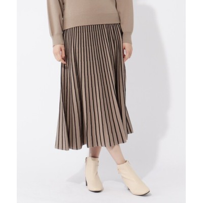 grove / 【S-LL】エコタックニットスカート WOMEN スカート > スカート