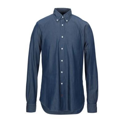 CÀRREL デニムシャツ ブルー 42 コットン 100% デニムシャツ