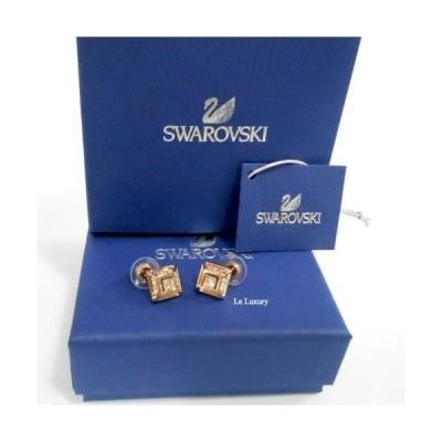おしゃれ 高品質 イヤリング スワロフスキー Swarovski Hillock Square Pierced  ROS 5351077