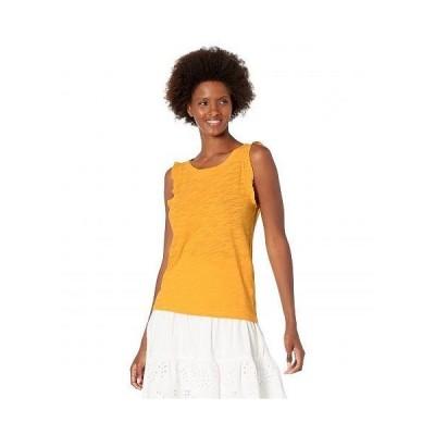 Lilla P リラP レディース 女性用 ファッション トップス シャツ Ruffle Sleeve Tank in Slub - Sunshine