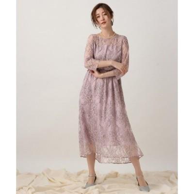 ドレス OC*ハイショクレースワンピース  910084
