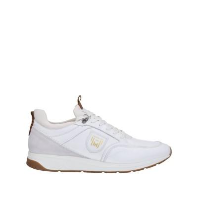 PANTOFOLA D'ORO スニーカー&テニスシューズ(ローカット) ホワイト 41 革 スニーカー&テニスシューズ(ローカット)