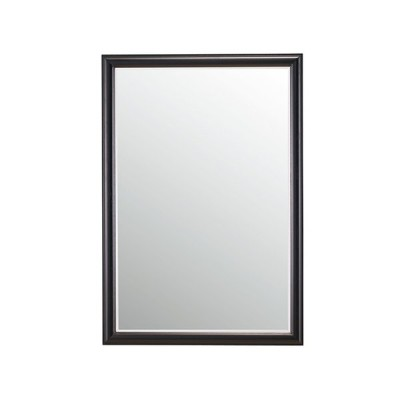 大型ミラー | 壁掛けミラー スマイル 鏡 木枠 木目 美容室 ヘアサロン