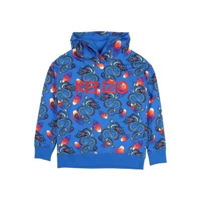 ケンゾー KENZO スウェットシャツ ブルー 5 コットン 95% / ポリウレタン 5% スウェットシャツ