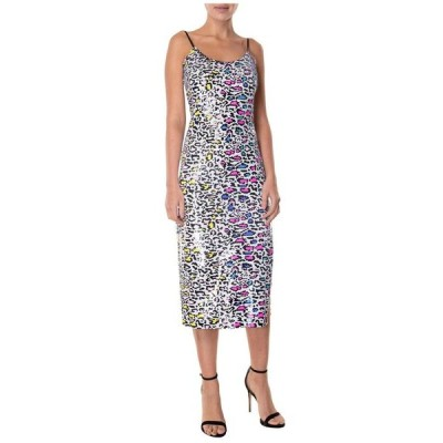 ミリー レディース ワンピース トップス Leopard Sequin Annie Dress