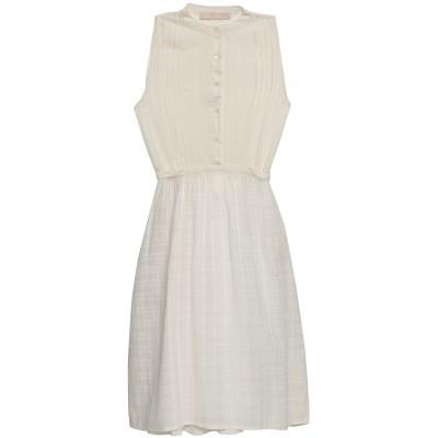 VANESSA BRUNO ミニワンピース&ドレス アイボリー 36 コットン 60% / レーヨン 40% ミニワンピース&ドレス