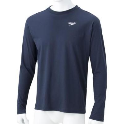 スピード 水泳 ロングスリーブスタンダードティー 19SS ネイビーB Tシャツ(sa31911-nb)