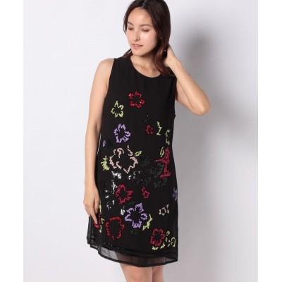 (Desigual/デシグアル)ドレス袖なし/レディース ブラック系