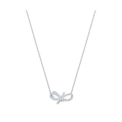 Swarovski Crystal Small Bow Necklace