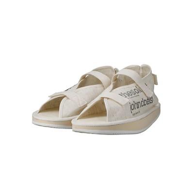 <TAKAHIROMIYASHITATheSoloist./タカヒロミヤシタザソロイスト.> サンダル moonshaped strap sandals. john doe(s) natural【三越伊勢丹/公式】