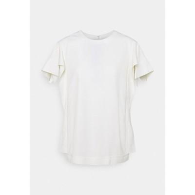 スリーワンフィリップリム シャツ レディース トップス ORIGAMI SLEEVES - Basic T-shirt - ivory