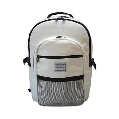 韓国リュックサック リュック 7545 韓国 バックパック バッグ おしゃれ 通学 レディース 大学生 Pallas Design (ホワイト)