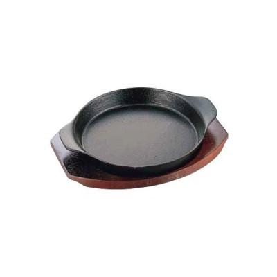 鋳鉄製 イシガキ ステーキ皿 深型丸06-15  15cm 6-1659-0601 7-1737-0601