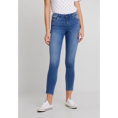 ノイジーメイ デニムパンツ レディース ボトムス NMKIMMY ANKLE ZIP - Jeans Skinny Fit - light blue denim