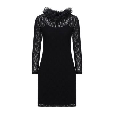 NINA RICCI ミニワンピース&ドレス ブラック 36 ナイロン 70% / ポリウレタン 30% ミニワンピース&ドレス