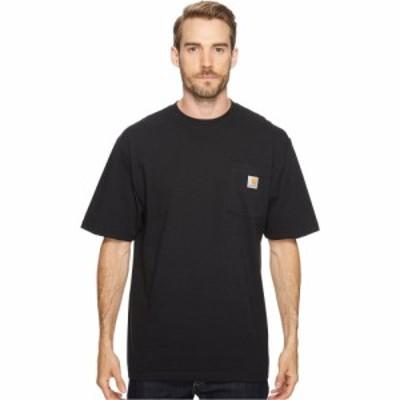 カーハート Carhartt メンズ Tシャツ 大きいサイズ ポケット トップス Big and Tall Workwear Pocket S/S Tee Black