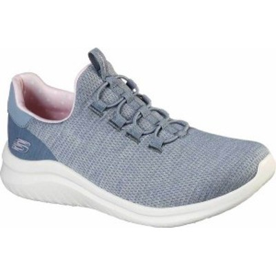 スケッチャーズ レディース スニーカー シューズ Women's Skechers Ultra Flex 2.0 Delightful Spot Sneaker Gray/Pink