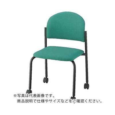 ナイキ パイプチェアー ビニールレザー張り ( E163BC-LBL ) (メーカー取寄)