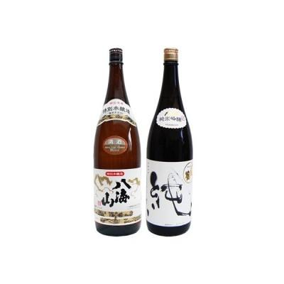 八海山 特別本醸造 1.8Lと〆張鶴 純 純米吟醸1.8L 日本酒 飲み比べセット 2本セット