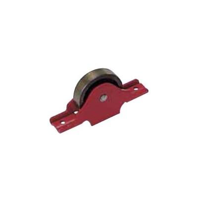 赤枠2mm厚ローラー戸車 鉄枠(30mm・袖平型)(1個価格) ヨコヅナ RJK-0303