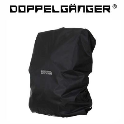 ドッペルギャンガー デイパックレインカバー DRC351-BK / ブラック / 適合サイズ:35リットルまで (DOPPELGANGER DRC351-BK)