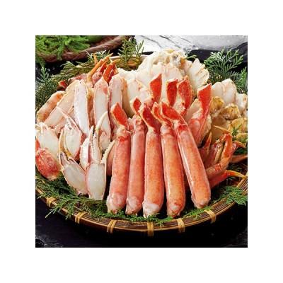 お歳暮 御歳暮 ギフト 贈り物 送料無料 かに カニ 蟹 大ズワイガニハーフポーション1kg