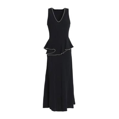 アレキサンダーワン ALEXANDER WANG 7分丈ワンピース・ドレス ブラック 2 シルク 100% 7分丈ワンピース・ドレス