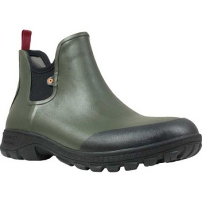ボグス Bogs メンズ ブーツ シューズ・靴 Sauvie Slip On Boot Dark Green Rubber