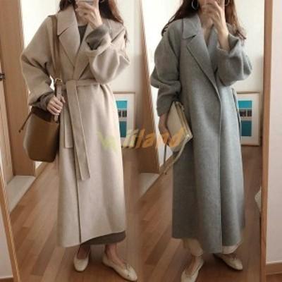 コート ダウンコート レディース コート らしゃ 冬 ダウンジャケット ミディアム丈コート ベルト付き カジュアル 厚手 もこもこ 暖かい