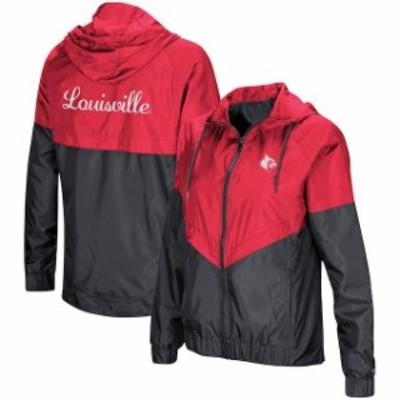 Colosseum コロセウム スポーツ用品  Colosseum Louisville Cardinals Womens Red First Class Full-Zip Windbreaker Jacket